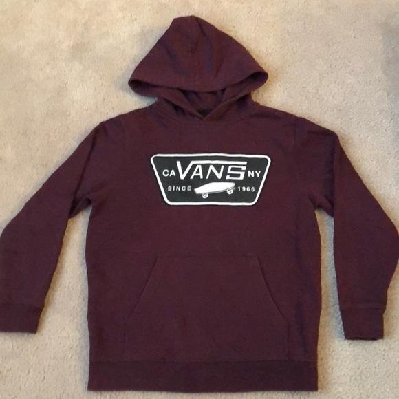 7a162ff7f ... burgundy vans hoodie Vans Shirts ...